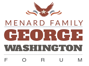 Menard Family George Washington Forum Logo Image